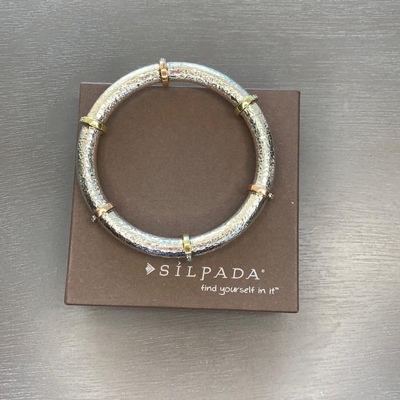 B2831 Silpada Radiance Bangle sterling silver